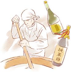 日本酒の母は日本人の繊細な味覚