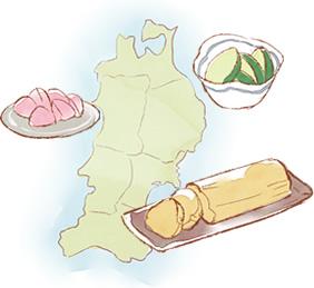 漬物の豊作地は東北・北陸